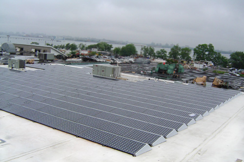 Precision Gear Inc. Solar Panels on Roof